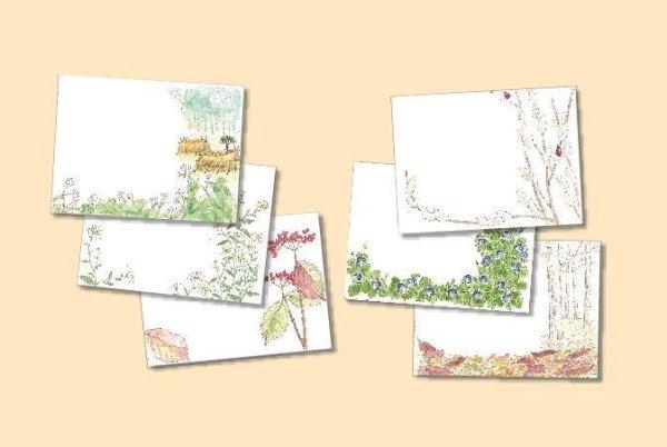 画像1: ポストカード(トトロの森の四季・秋冬) (1)